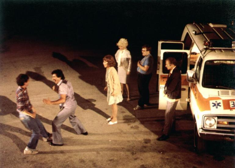 HAPPY BIRTHDAY, GEMINI, Alan Rosenberg, Robert Viharo, Rita Moreno, Madeline Kahn, Timothy Jenkins, Alberto deRosa, 1980, (c) United Artists